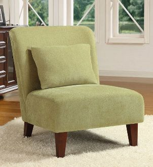 tufted armless chairs gray green | green accent chairs on Celery Green Accent Chair