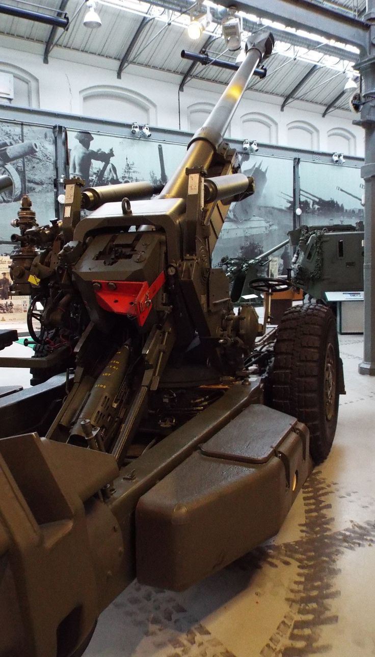NATO 155mm Howitzer FH70 1977 Firepower Museum