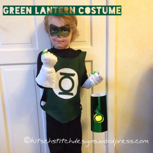 The Green Lantern costume