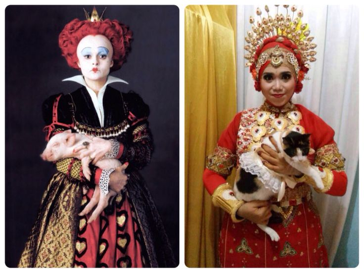 I'm the Red Queen #Mapacci #wedding #cat #bajubodo #makassar #RedQueen