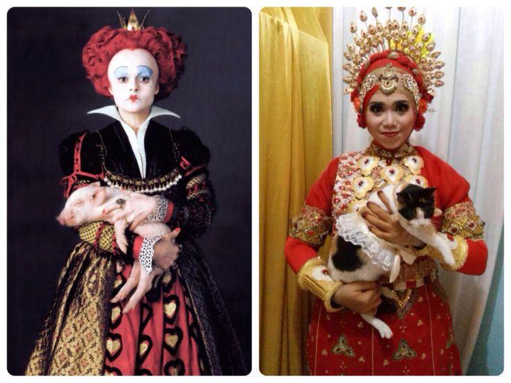 I'm the Red Queen #Mapacci #wedding #cat #bajubodo #makassar #RedQueen