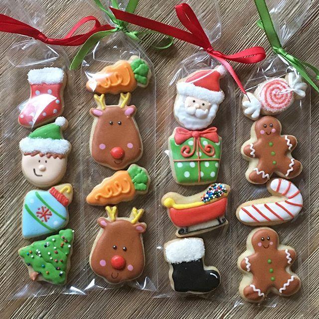 Christmas Mini Cookies | Sugar Cookie Kate