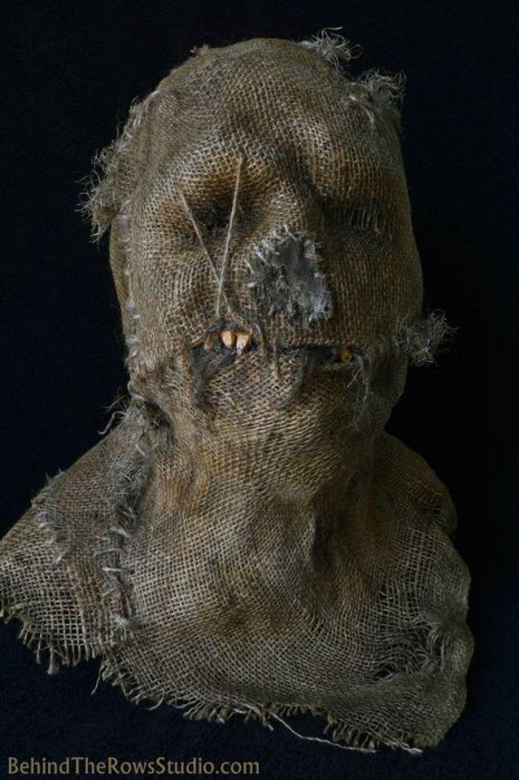 25+ best Scarecrow mask ideas on Pinterest   Scary scarecrow ...