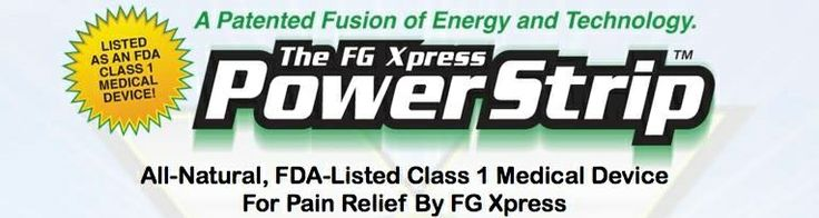 Power Strips are a patented fusion of energy technology and ancient herbs. Easy to use and all-natural, Power Strips use Far-infrared technology to focus energy in your body to relieve your pain. The FDA has listed this powerful product as a Class 1 Medical Device for Pain Relief and for Improving the Look and Feel of Skin.