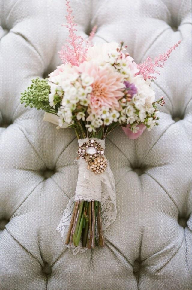 Een bruidsboeket met betekenis | Sieraad van oma
