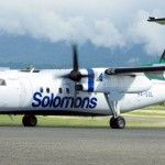 Solomon Airlines Dash 8 aircraft back in service