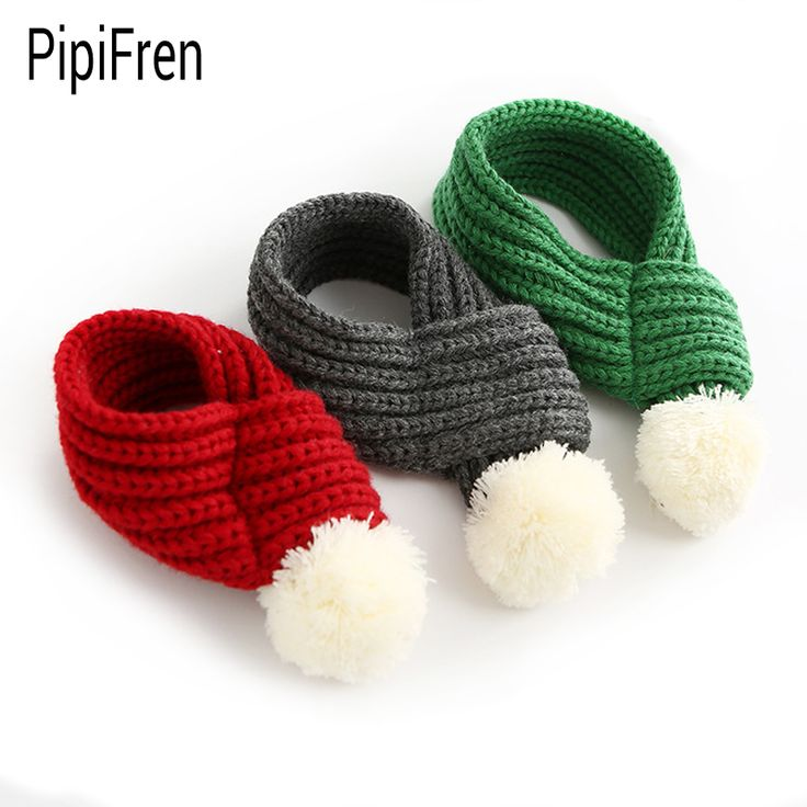 PipiFren Winter Dogs Scarf Puppy Collars Chihuahua Accessories For Pet Scarf Supplies Collar Shop honden halsband collier chien #Affiliate