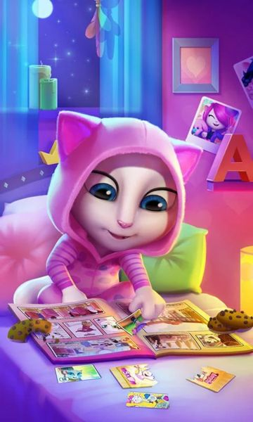 My Talking Angela v2.7.4.71 (Mod) Apk Mod  Data http://www.faridgames.tk/2016/11/my-talking-angela-v27471-mod-apk-mod.html