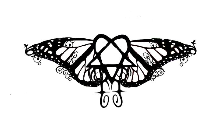 heartagram tattoo design 3 by LilxMissxSpookiness on DeviantArt