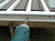 How To Install PVC Synthetic Handrails For A Deck Or Porch