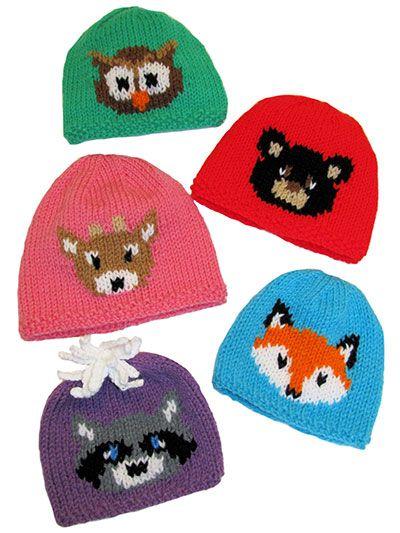 Knitting - Forest Friends Hats - #REK0710