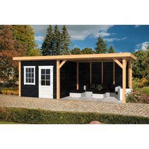 Kleines Gartenhaus mit großer Terrasse in Schwart, 300x300