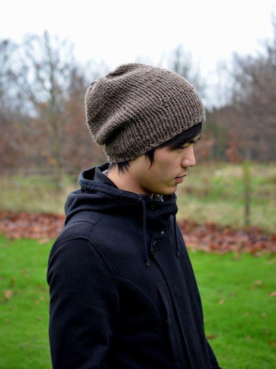 Slouchy Beanie Men S Slouchy Beanie Men S Knitted Hat