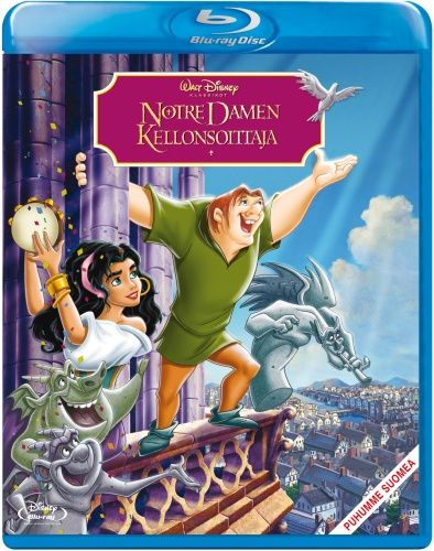 14,95e Disney 34: Notre Damen kellonsoittaja (Blu-ray)