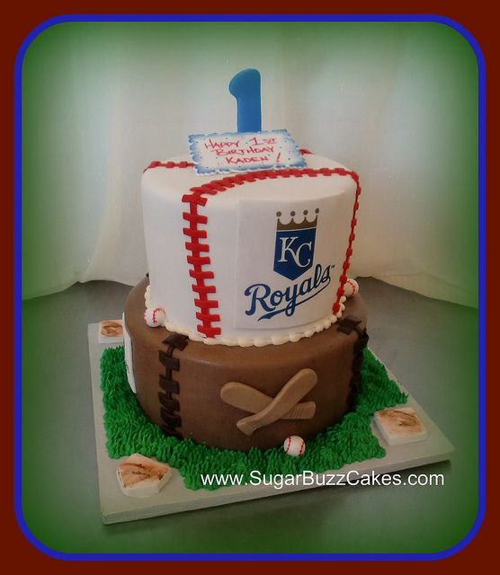 Birthday Baseball Cake