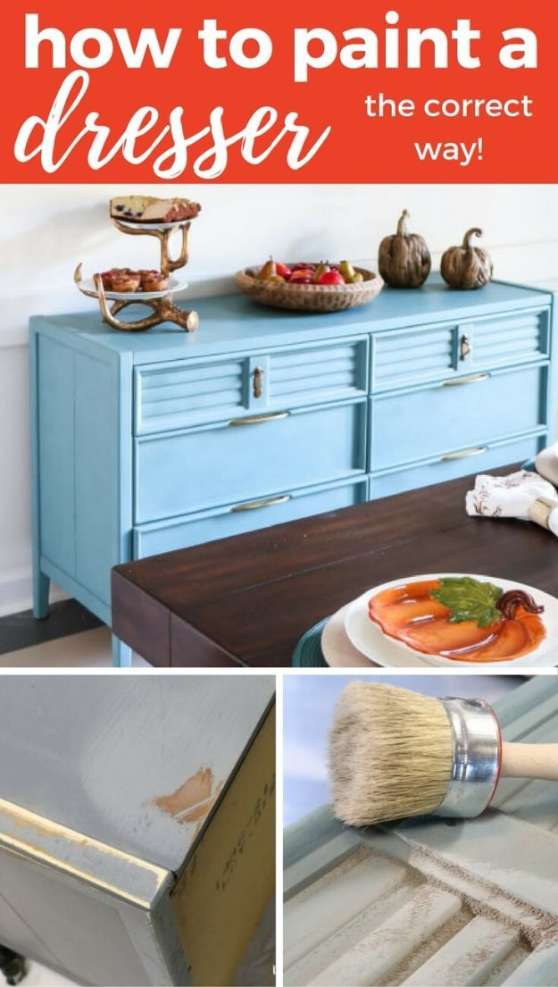 34 Painting Hacks And Secrets From The Pros Painted Bedroom Furniture Furniture Makeover Cool Furniture