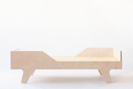 """""""Dream"""" plywood bed from www.nuki.pl"""