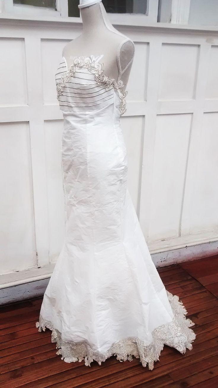 vestido de papel / Viña del Mar