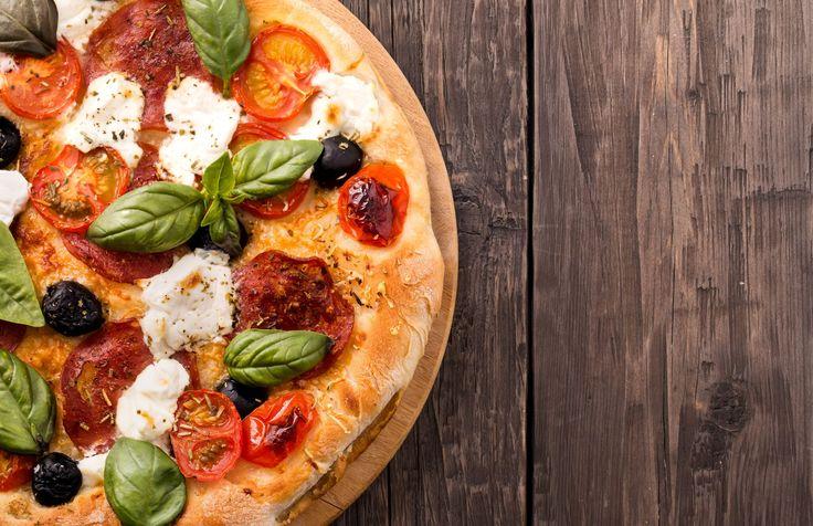 yummy amatriciana pizza recipe (minus the pepperoni)