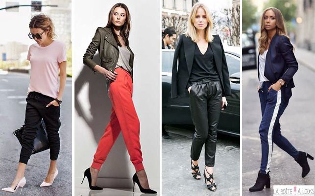 How to wear : Le jogging http://www.laboitealooks.com/category/focus-look/