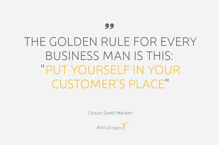 #BusinessQuote #GoldenRule #CRM #CustomerService