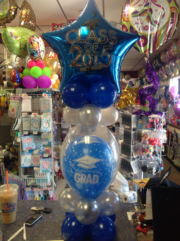 178 best images about cool balloon ideas on pinterest for Balloon decoration ideas for graduation