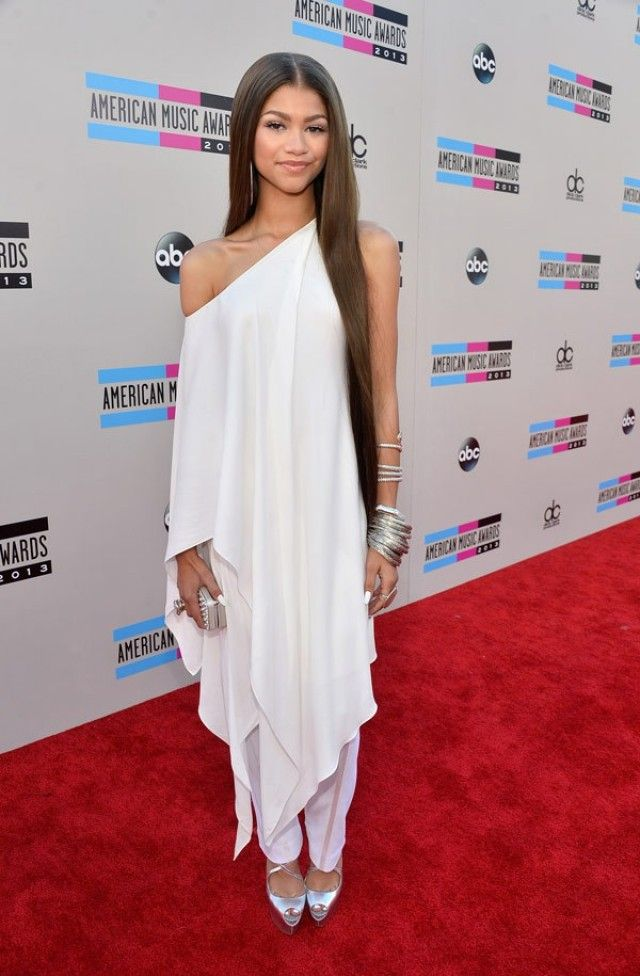 Zendaya Coleman white outfit