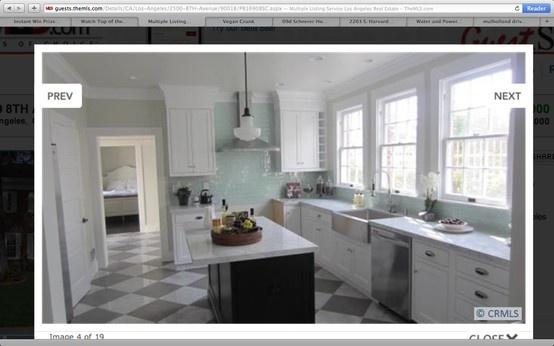 1915 kitchen renovation nice color scheme super glossy celery green tile architecture. Black Bedroom Furniture Sets. Home Design Ideas