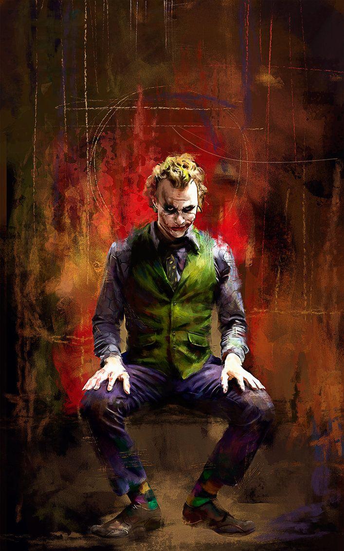 pin the joker art - photo #14