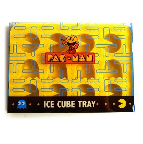 Pacman Silicone Ice Cube Tray by pal, http://www.amazon.com/dp/B003QXY8J2/ref=cm_sw_r_pi_dp_oAAOpb19ZHQR9: Pac Man, Pacman Silicone, Man Ice, Ice Trays, Ice Cube Trays, Silicone Ice, Chocolates Favors, Pacman Parties, Ice Cubes Trays