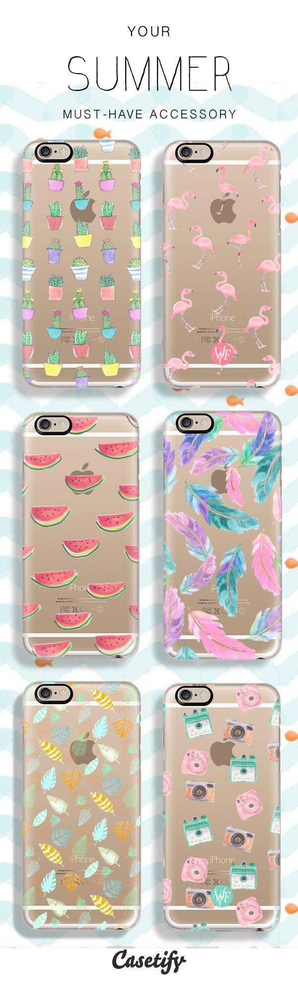 I especially love the cacti one and the feather one-Your Phone needs a Summer Makeover too! Check out some of our newest and all time favourite Summer phone cases!