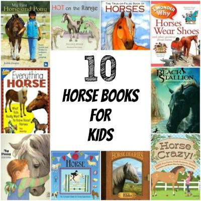 10 Horse Books for Kids on the Cowboy Magic® Blog #cowboymagic #horseblog #horsebooks