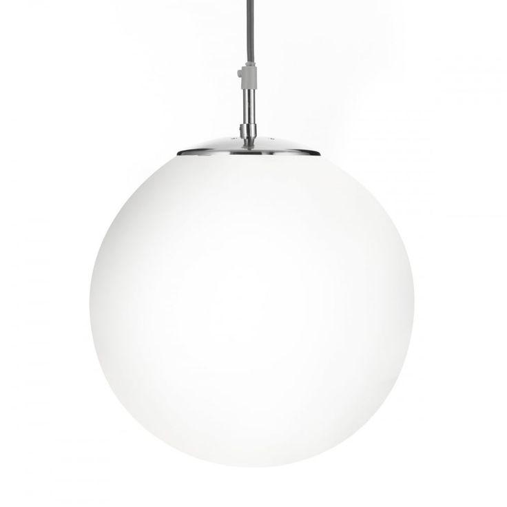 opal glass globe ceiling pendant