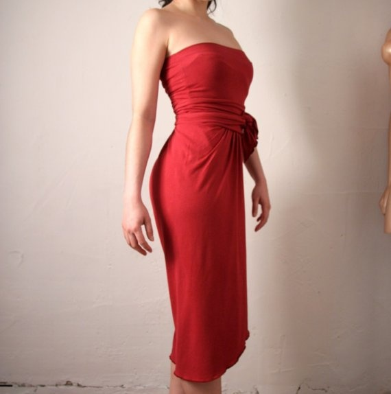 womens bamboo sarong jumpsuit   made to order by sandmaiden, $92.00