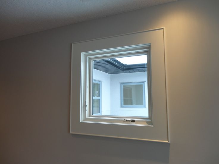 Contemporary Window Trim