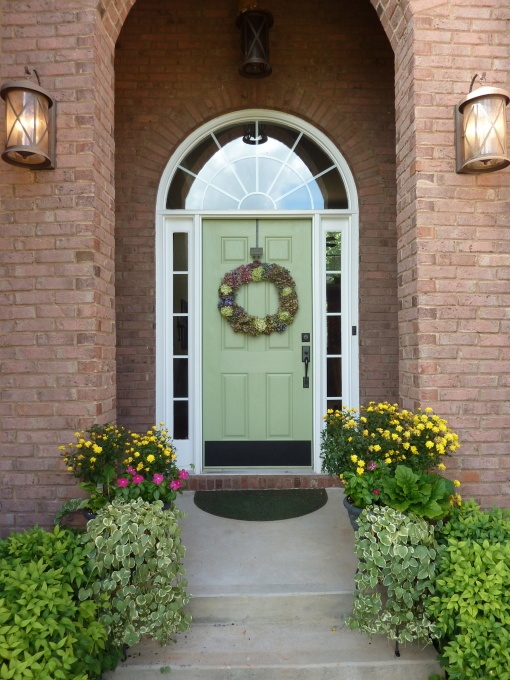 front door color idea from diy user luv2bflyin windows