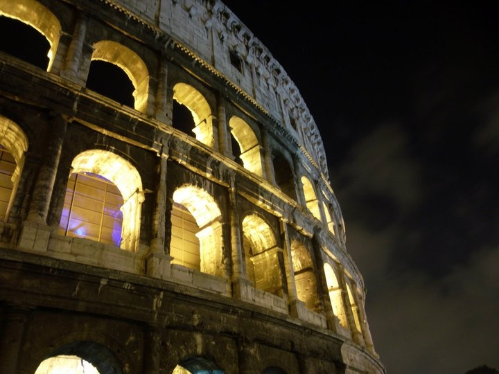 rome at night 7