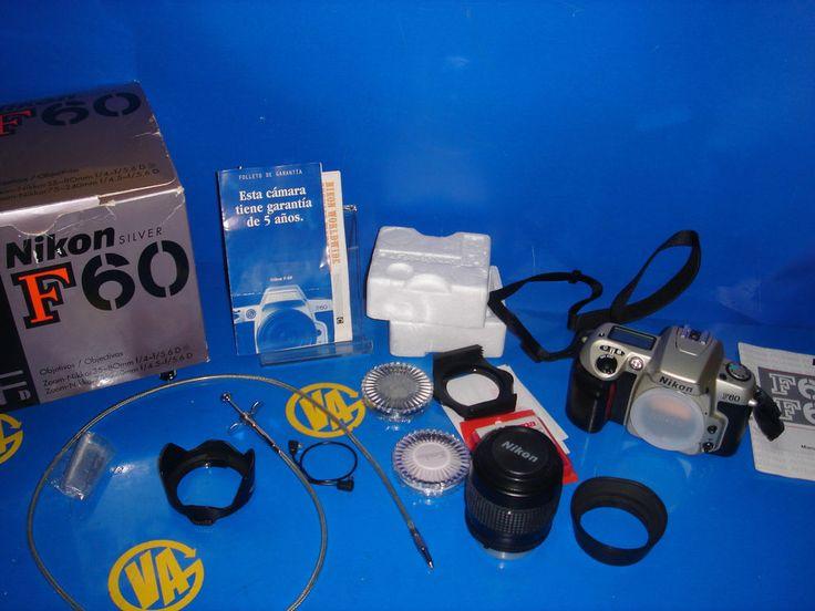 Camara reflex NIKON moelo F60 buen estado con objetivo 35-80mm. + filtros-etc..