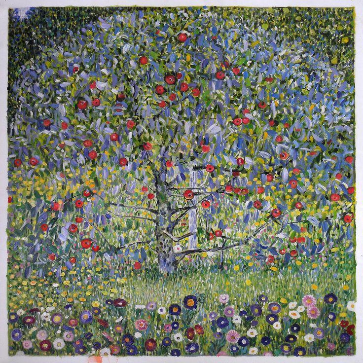 Zz1597 Wall Art Decoration Painting Gustav Klimt Big Tree: 35 Best Gustav Klimt Paintings Images On Pinterest