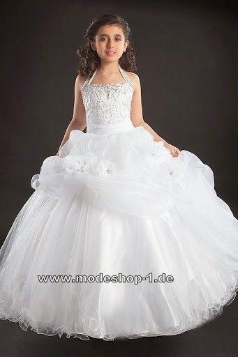 Kommunionkleid Abendkleid für Mädchen | Kommunion kleider ...