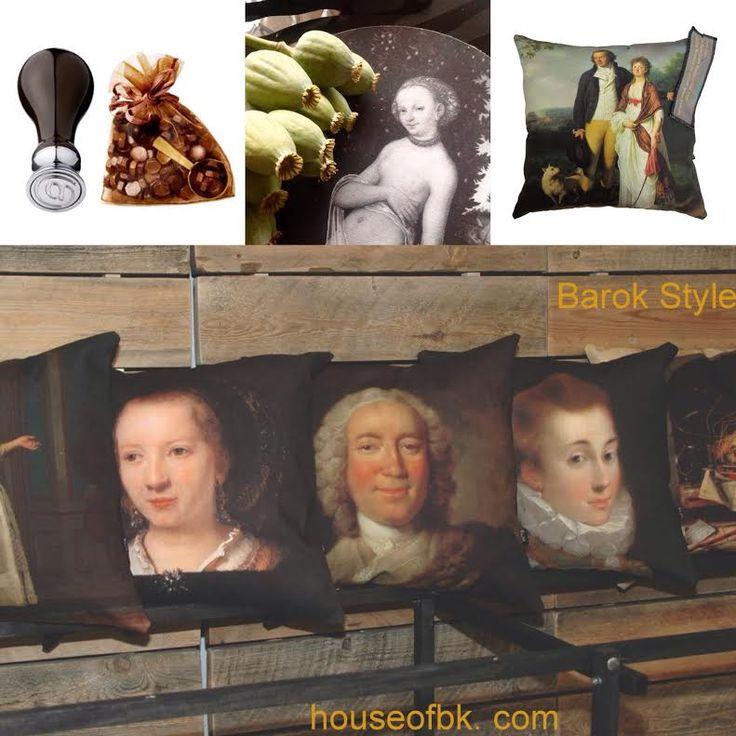 Eksklusiv kunsttryk på puder og hynder i barok og renæssancestil #barok #renæssance #SMK #BMImages #houseofbk #cushion #seat #art