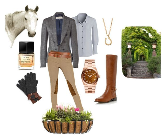 British Country Style by motetta on Polyvore featuring NIC+ZOE, Paul Smith, Ralph Lauren Blue Label, Roberto Vianni, MICHAEL Michael Kors, Minor Obsessions, Lauren Ralph Lauren, Whistles, Yves Saint Laurent and Natural Curiosities
