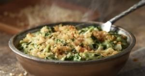 Parmesan Creamed Spinach, a recipe from LongHorn Steakhouse. PHOTO COURTESY LONGHORN STEAKHOUSE