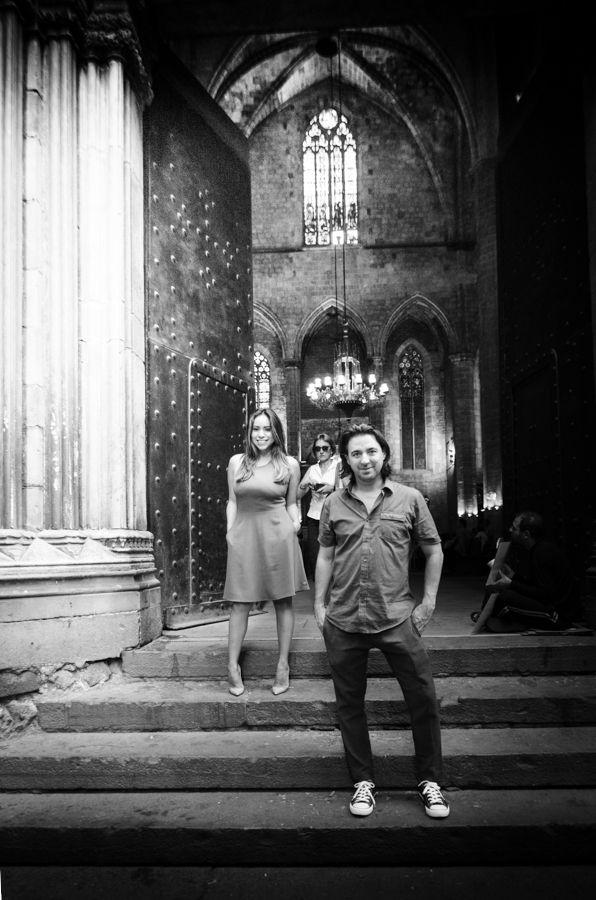 Noa & Ryan Engagement shoot Barcelona