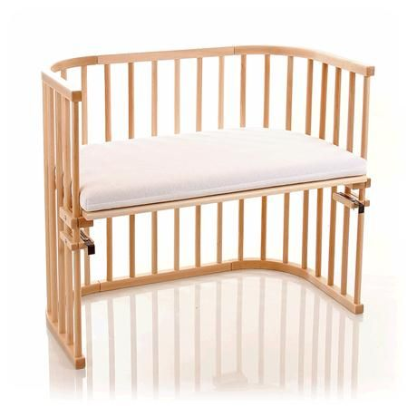 Babybay Maxi In Beech with Coconut Mattress