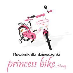 Różowy rowerek dla dziewczynki z Tomabike