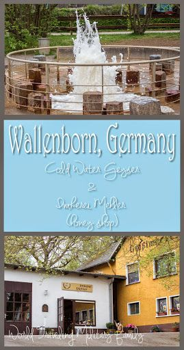 Wallenborn, Germany – Cold Water Geyser and Local Honey. Approximately 30 minute drive from the Spangdahlem area, 1 hour 30 mins from Ramstein.