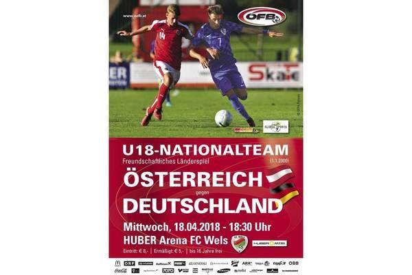 ÖFB U18 Länderspiel in Wels!