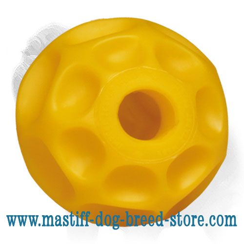 'Honeycomb' Mastiff Dog Treat Dispensing Ball - LARGE