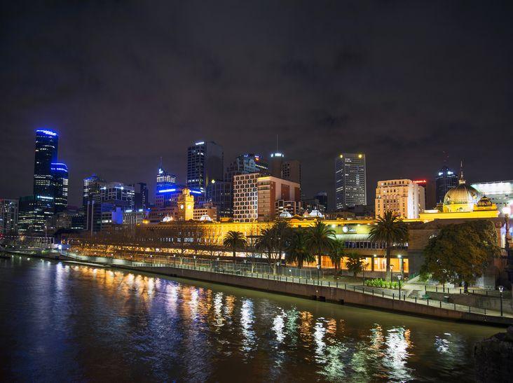 Central Melbourne Skyline at night in Australia Visit us on http://chandlerdental.com.au/